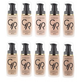 Golden Rose LONGSTAY MATTE foundation make up SPF15