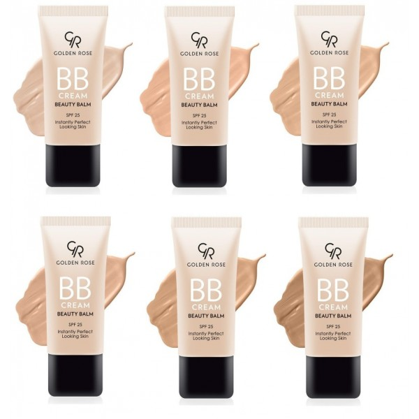 BB CREAM beauty balm SPF 25 GOLDEN ROSE - BB krém