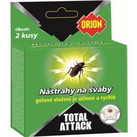 Orion Total Attack nástraha na šváby, 2 ks