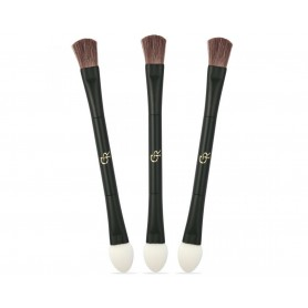Golden Rose štětec DOUBLE-ENDED EYESHADOW BRUSH K-FIR-007
