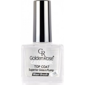 Golden Rose Gel Look Top Coat krycí lak na nehty