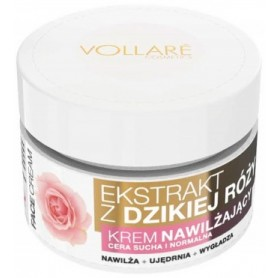 Krém na obličej WILD ROSE EXTRACT & COLLAGEN & VITAMIN E
