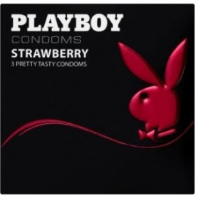 Playboy Strawberry kondomy