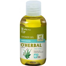 O´herbal sprchový gel aloe vera