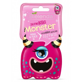 Bielenda Monster Mask Nourishing 3D sheet mask pleťová maska (plátýnková)