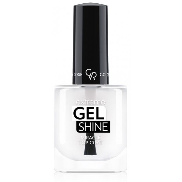 Golden Rose Extreme Gel Shine Miracle Top Coat vrchní lak na nehty