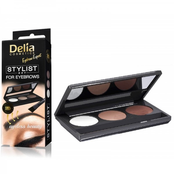 DELIA stylist set for eyebrows - set na obočí