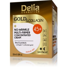GOLD and COLLAGEN 45+ krém proti vráskám
