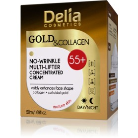 GOLD and COLLAGEN 55+ krém proti vráskám
