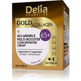 GOLD and COLLAGEN 65+ krém proti vráskám