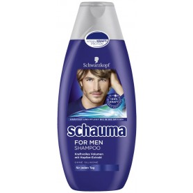 SCHAUMA šampon 400 ml for men