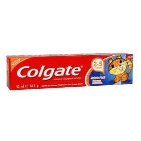 COLGATE Zubní pasta 2-5 let Bubble fruit 500 ppm FLUORIDE