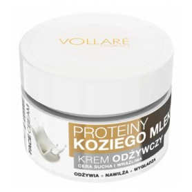 Krém na obličej GOAT MILK PROTEINS & COLLAGEN & VITAMIN E