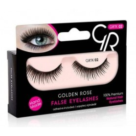 Golden Rose FALSE LASHES umělé řasy K-GTK-02