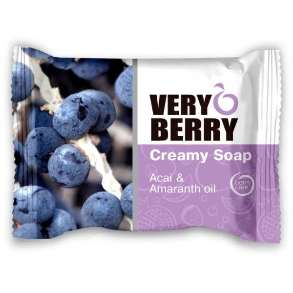 VERY BERRY acai and amaranth oil MÝDLO 100 g