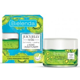 Bielenda Juicy Jelly mask pleťová maska kiwi