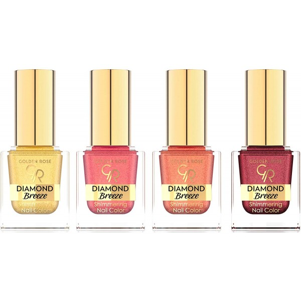 Golden Rose DIAMOND BREEZE nail polish 10,5 ml - lak na nehty