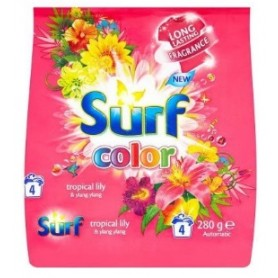 Surf Color Tropical Lily & Ylang Ylang prášek 4 praní 0,28 kg