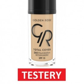 TESTER Golden Rose TOTAL COVER 2in1 foundation+concealer